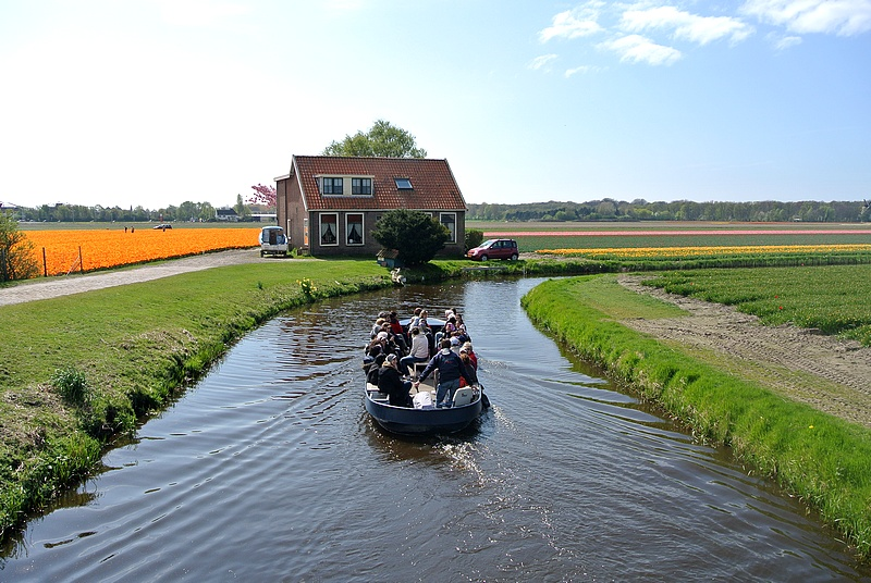 Flüsterboot in Holland