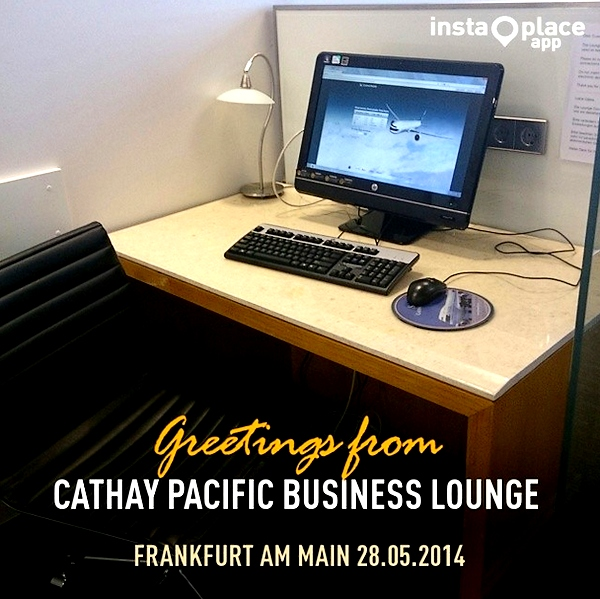 Cathay Pacific Business Lounge
