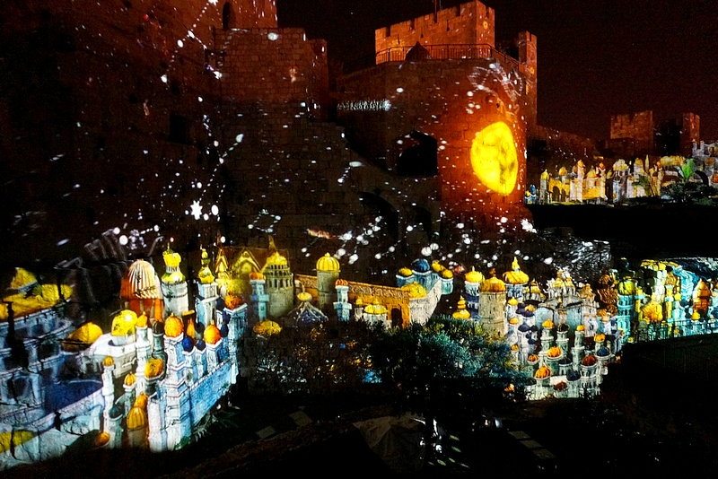 Night Spectacular Jerusalem