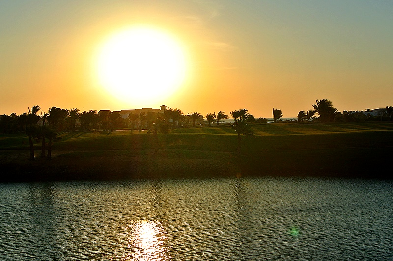 Sunset in El Gouna