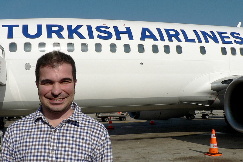 Mohamed Durmaz, the general manager of Turkish Airlines in Hurghada.