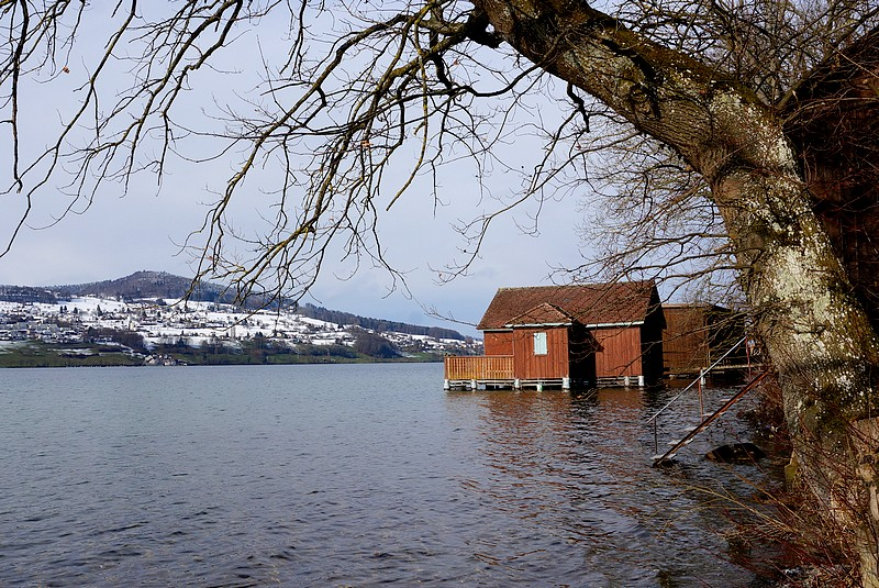 Bootshaus am Hallwilersee