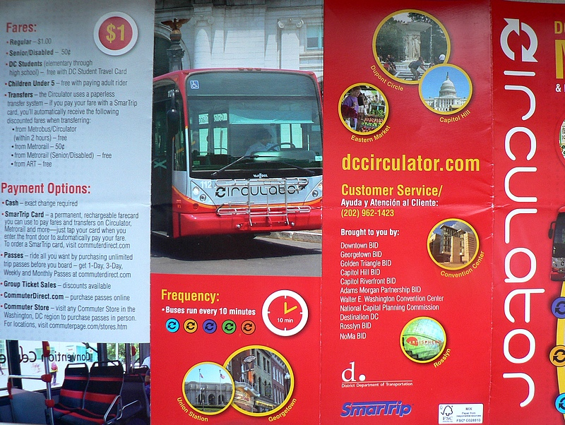 Circulator Washington