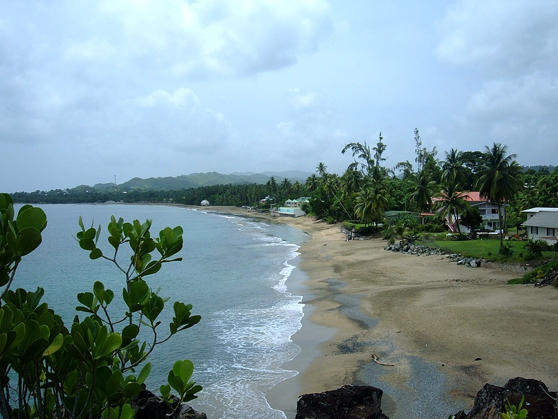 Tobago, Great Courland Bay