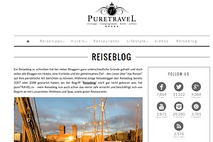 Reiseblog pureTravel.tv