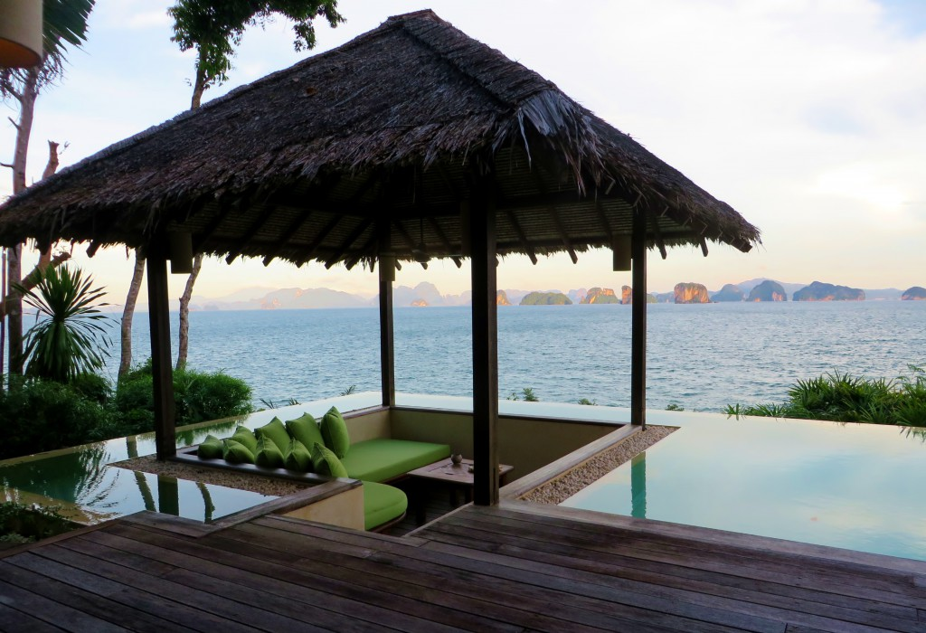infinity pool six senses yao noi
