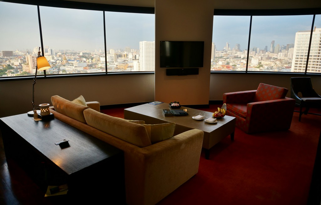 ausblick executive room milliennium hilton 1