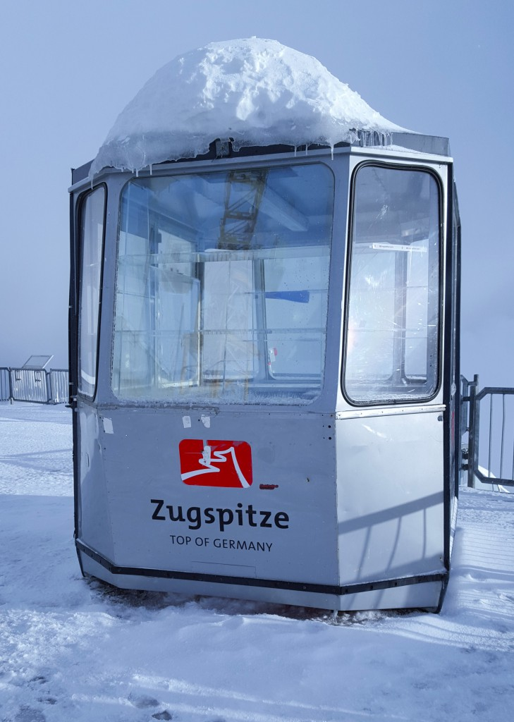 top of germany - die zugspitze