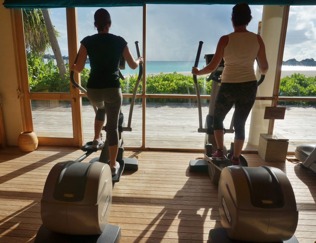 fitness im six senses laamu
